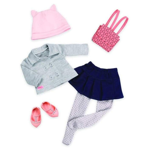 Class Act Going To School Deluxe Outfit | Our Generation Clothes - 062243329584