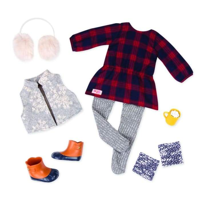 Cocoa Cozy Deluxe Outfit | Our Generation Clothes - 062243344853