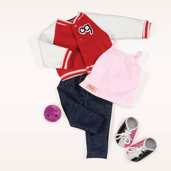 Our Generation Gotta Bowl Deluxe Outfit | Our Generation Clothes - 62243307704