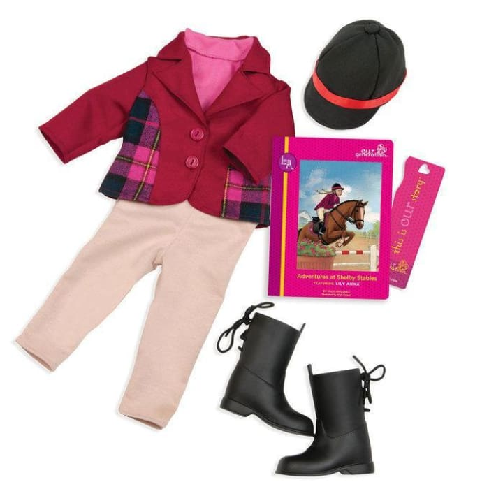 Our Generation Lily Anna - Read & Play Set | Our Generation Clothes - 62243309548