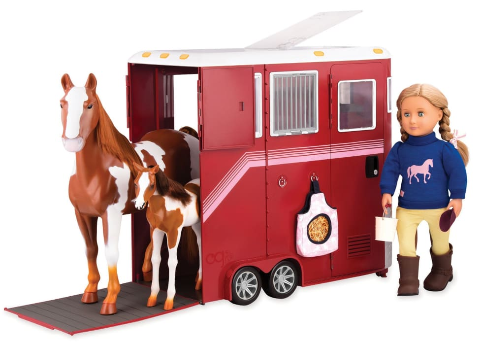 Our Generation Mane Attraction Horse Trailer | Our Generation Accessory - 062243345720