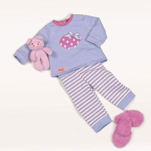 Our Generation Morning Noon and Nighty Regular Pyjama Outfit | Our Generation Clothes - 062243288331