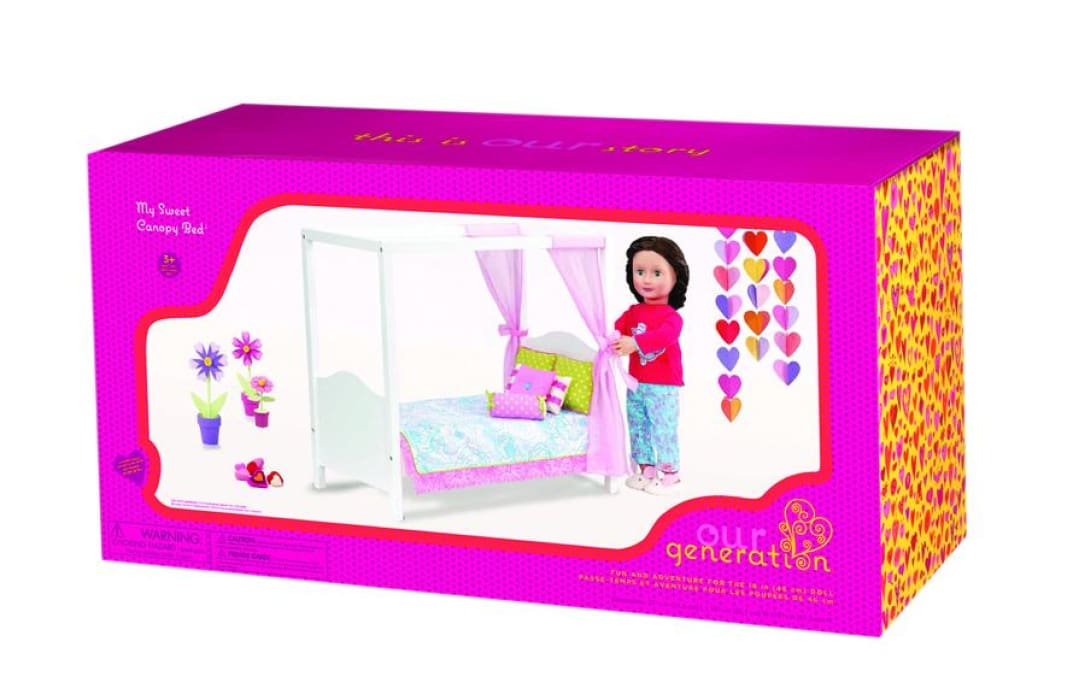 Our Generation My Sweet Canopy Bed | Our Generation Accessory - 62243308503