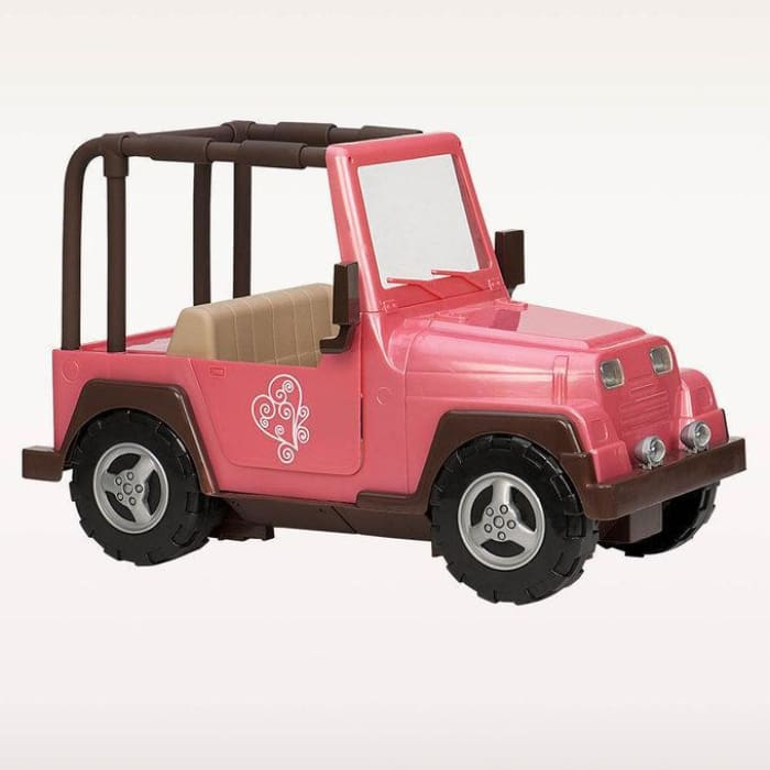 Our Generation My way and highways 4 x 4 Jeep Pink Car | Our Generation Accessory - 62243288492