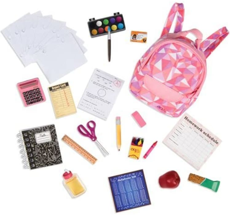 Our Generation Off To School Accessory Set | Our Generation Accessory - 062243328471
