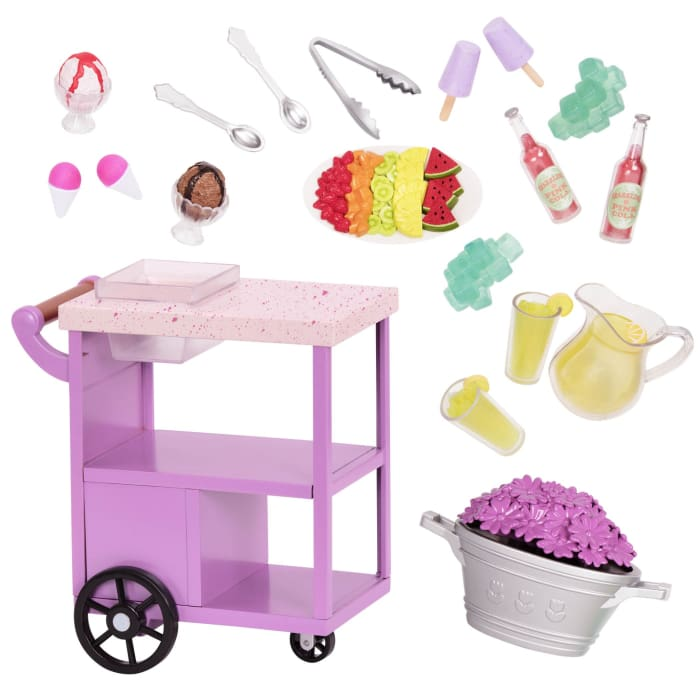 Our Generation Patio Treat Trolley | Our Generation Accessory - 062243414969