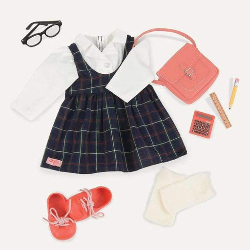 Perfect Score School Uniform Deluxe Outfit | Our Generation Clothes - 062243329591