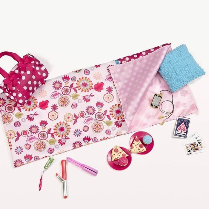 Our Generation Polka Dot Sleepover Set | Our Generation Accessory - 062243262164