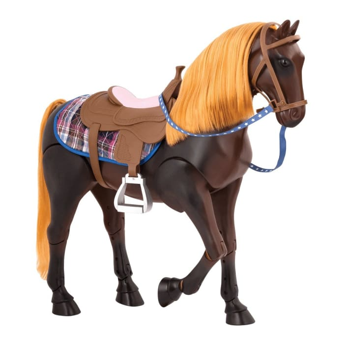 Our Generation Poseable Thoroughbred Horse | Our Generation Horses - 062243351868