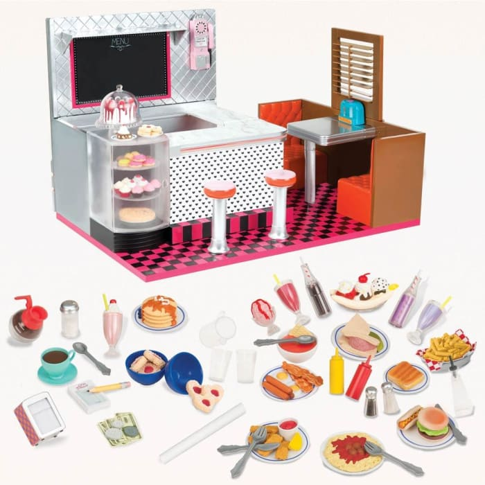 Our Generation Retro Bite to Eat Diner | Our Generation Accessory - 062243407237