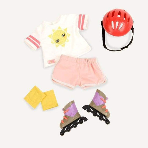Roll With It Rollerblades Regular Outfit | Our Generation Clothes - 062243324121