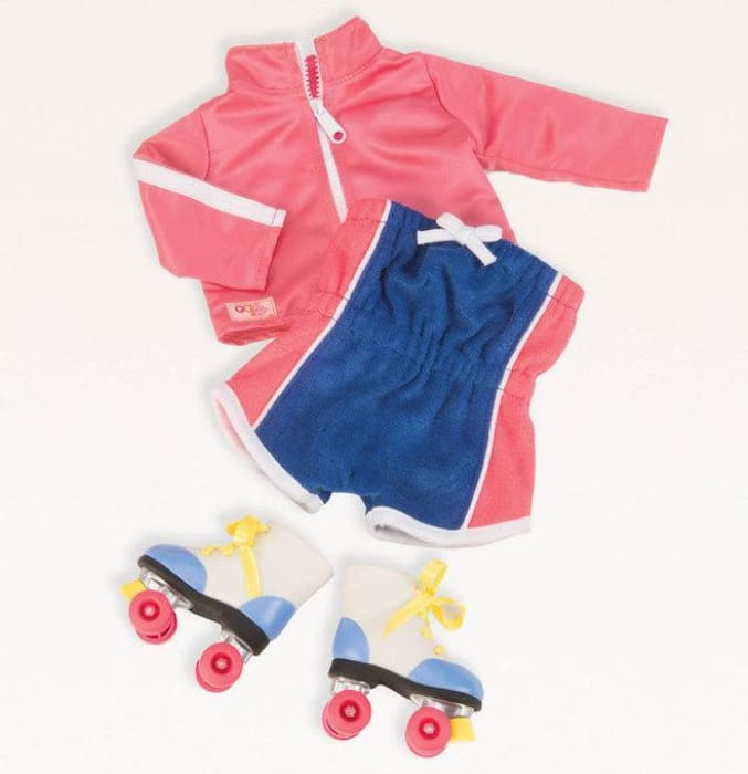 Our Generation Roller Disco Regular Outfit | Our Generation Clothes - 62243306493