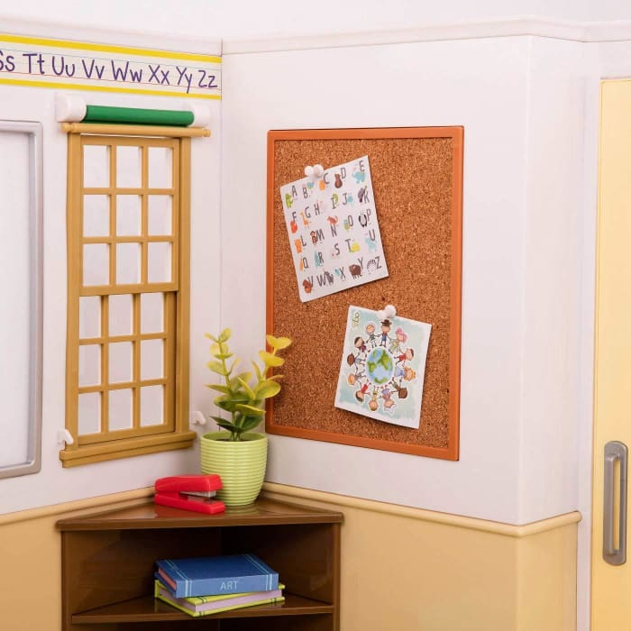 Our Generation School Awesome Academy School Room Set | Our Generation Accessory - 062243305496