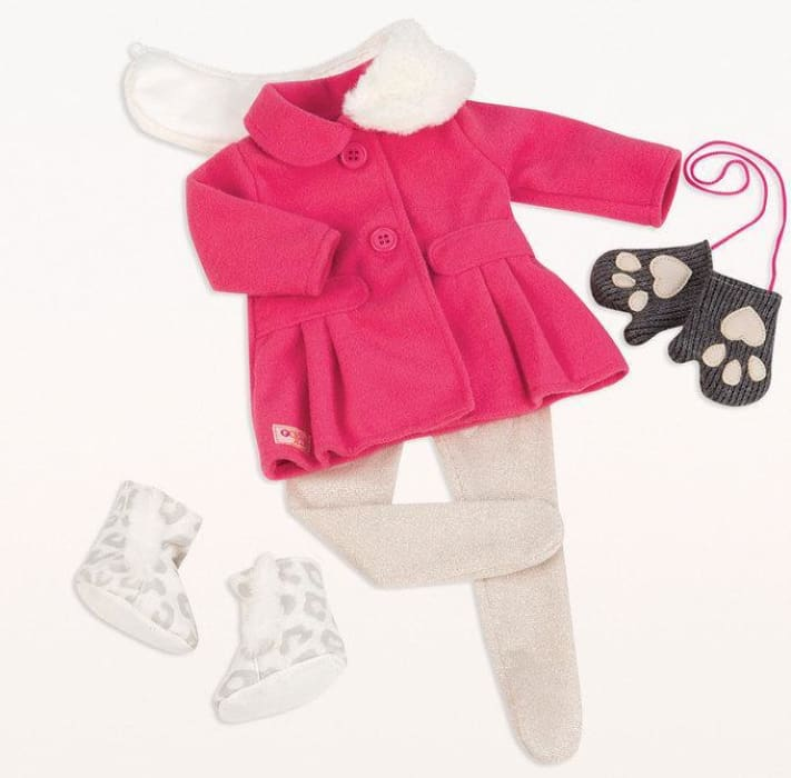 Our Generation Snow Sweet Deluxe Outfit | Our Generation Clothes - 62243307032