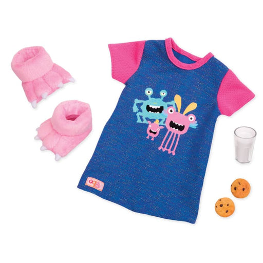 Our Generation Snuggle monster Regular Outfit | Our Generation Clothes - 062243352278