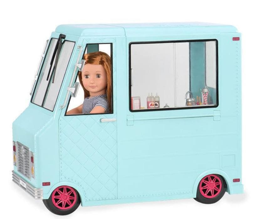 Our Generation Sweet Stop Ice Cream Truck | Our Generation Accessory - 062243306844
