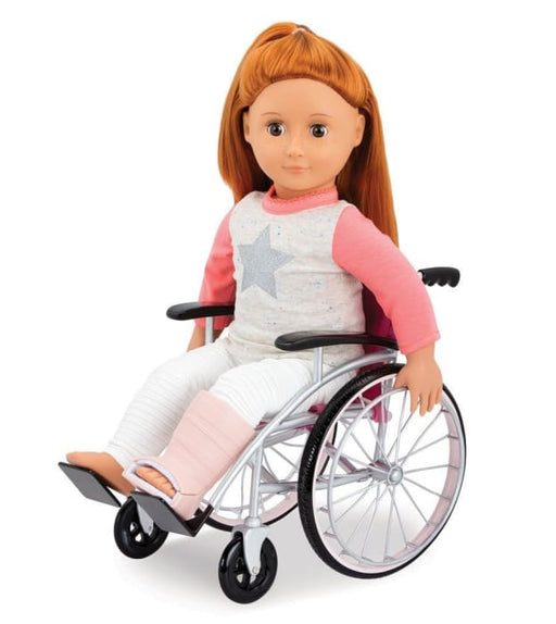 Our Generation Wheelchair Medical Set | Our Generation Accessory - 062243346260