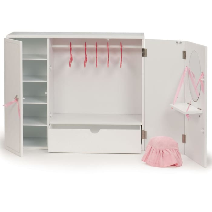 Our Generation Wooden Wardrobe Set | Our Generation Accessory - 062243252813