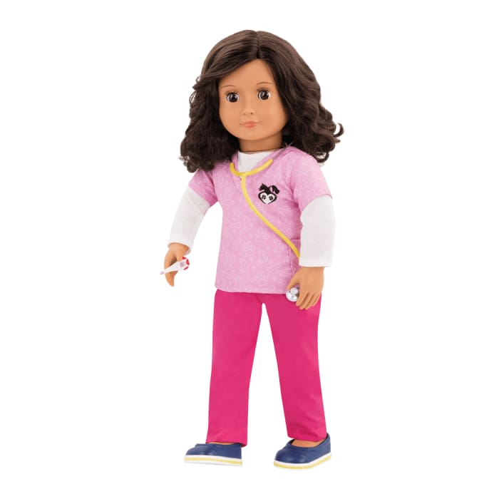 Paloma Our Generation Veterinary Professional Doll | Our Generation Doll - 062243349414