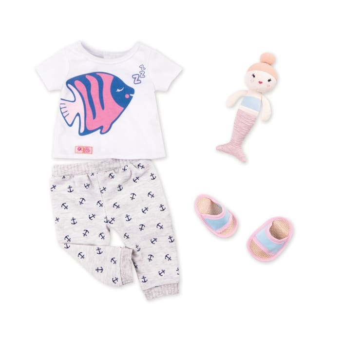 Seaside Sleepover Our Generation Pyjama Set | Our Generation Accessory - 062243346109