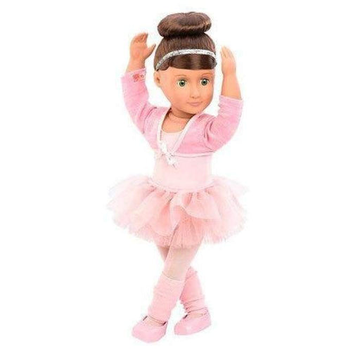 Sydney Lee with Book Our Generation Deluxe Ballet Doll | Our Generation Doll - 062243311411