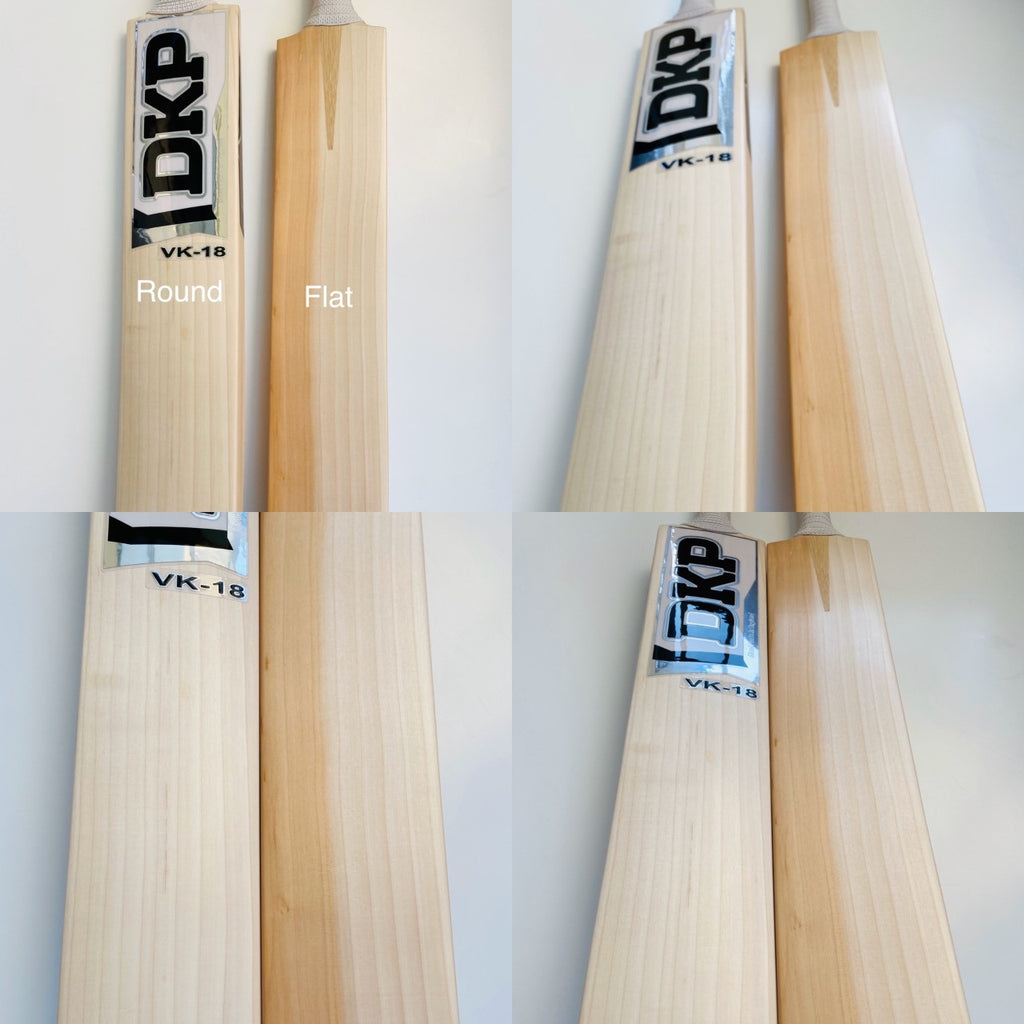 Cricket Bat Face Profiles