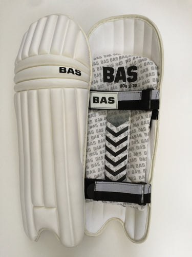 BAS Bow 2020 Moulded Twp Strap Cricket Batting Pads | Lightest Pads on the Market