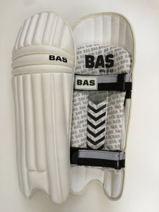 BAS Bow 2020 Moulded Twp Strap Cricket Batting Pads - DKP Cricket Online