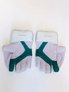 SS TON Player Edition Green Cameo Wicket Keeping Cricket Gloves - DKP Cricket Online