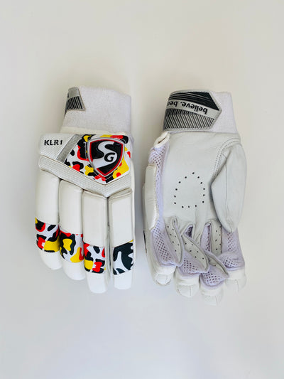 SG KLR 1 Special Edition Cricket Batting Gloves | As used by KL Rahul - DKP Cricket Online