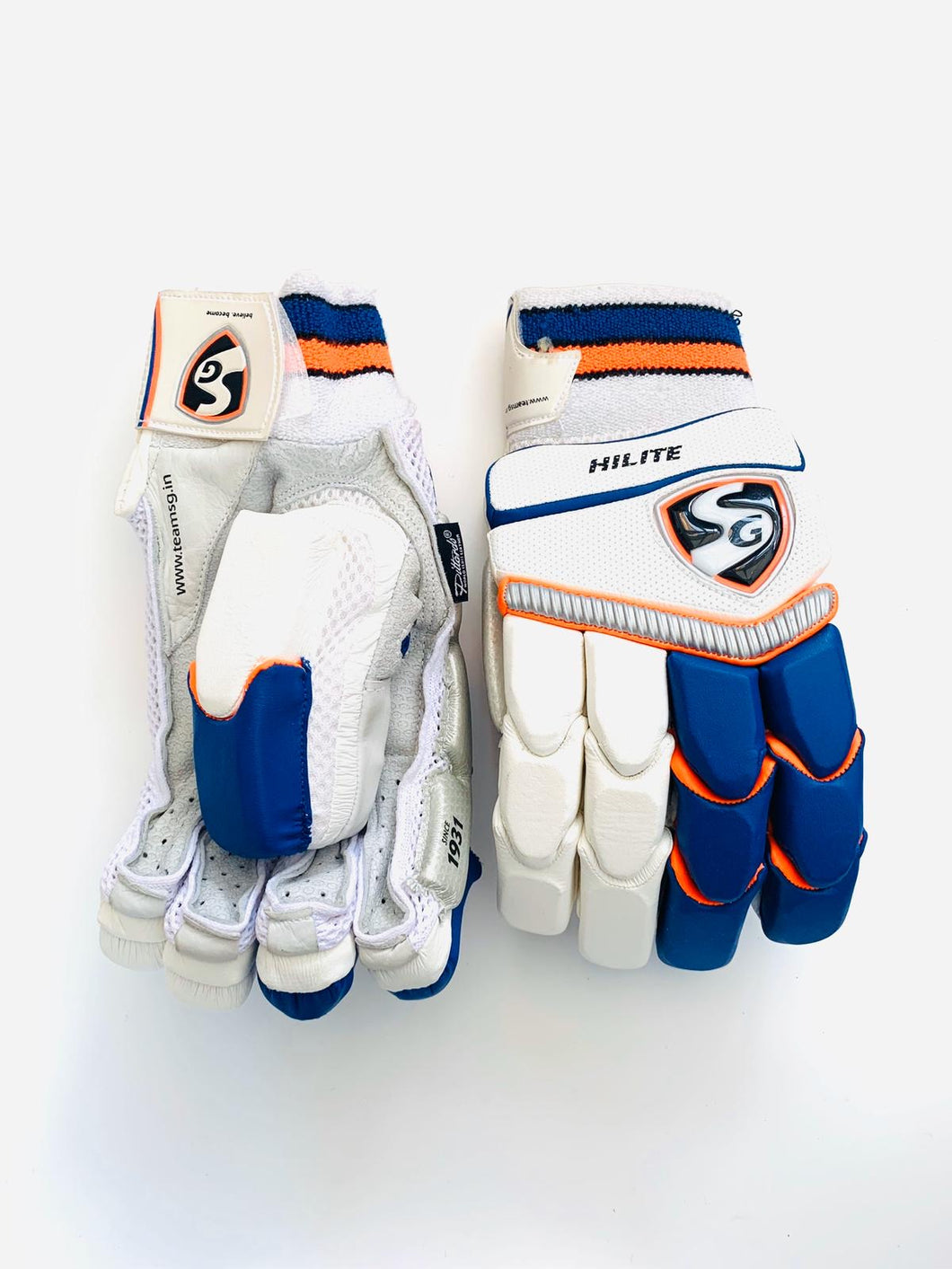 SG Hilite Cricket Batting Gloves | Top of the Range | Left Hand - DKP Cricket Online