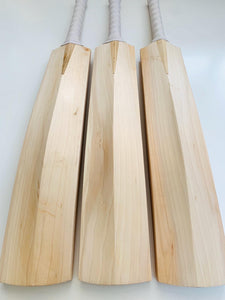 Plain Grade 1 English Willow Cricket Bats | Full Spine Profile | Made in England - DKP Cricket Online