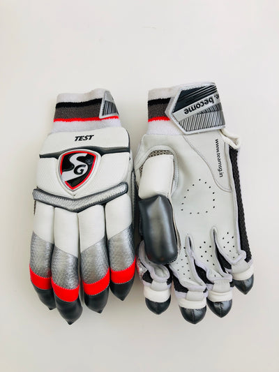 SG Test Cricket Batting Gloves | As used by Pujara and R Sharma - DKP Cricket Online