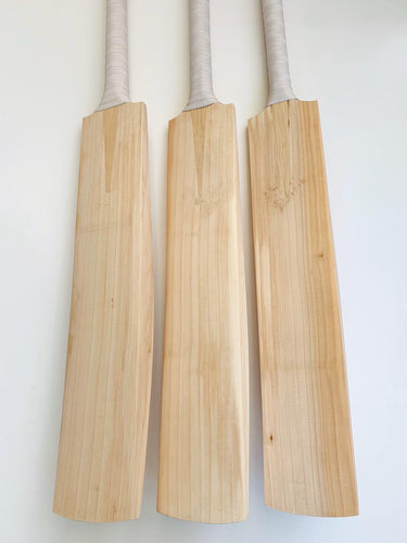 Plain Grade 1 English Willow Cricket Bats | Full Spine Profile | Made in England
