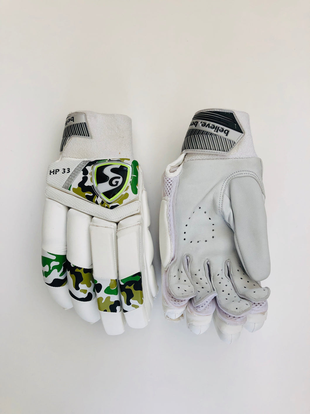 SG HP 33 Cricket Batting Gloves | As used by Hardik Pandya - DKP Cricket Online