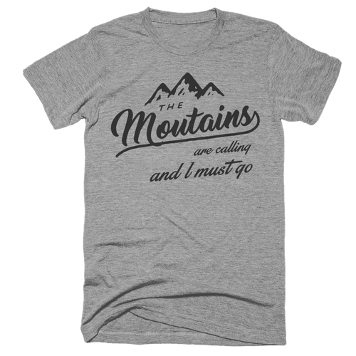 Playera Trail: Mountains are calling