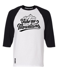 Playera Trail: Take me to the mountains
