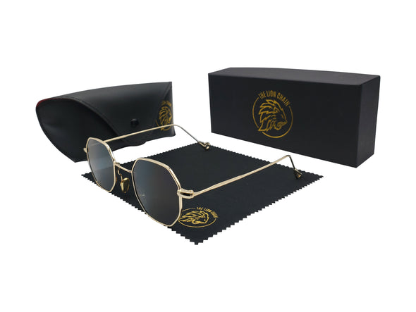 The Hustler Shades Gold Edition