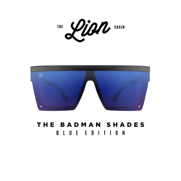 The Badman Shades Blue Edition