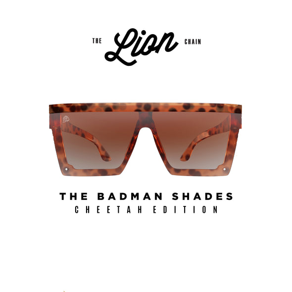 The Badman Shades Cheetah Edition