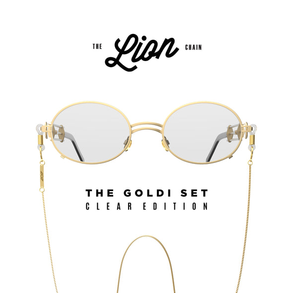 The Goldi Set Clear Edition