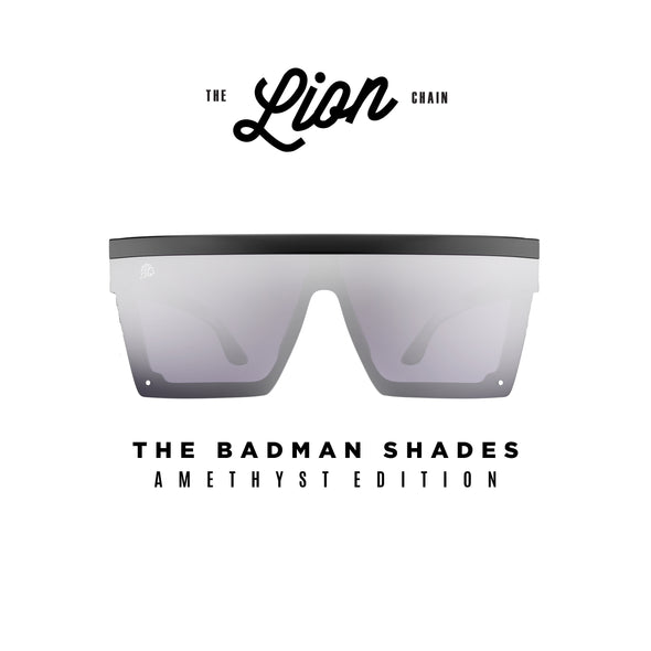The Badman Shades Amethyst Edition
