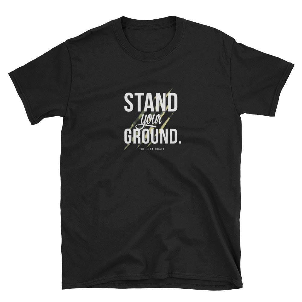 Stand Your Ground Black T-Shirt