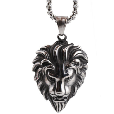 The Lion Chain Stainless Steel Necklace