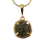Genuine Ancient Roman Coin Pendant Necklace (Constantine II; 337-340 A.D.)