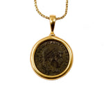 Genuine Ancient Roman Coin Necklace (Constantine the Great; 306-336 A.D.)