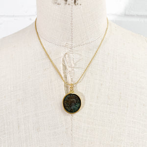Genuine Ancient Roman Coin Necklace (Probus; 276-282 A.D.)