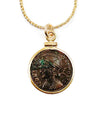 14k Gold Filled Ancient Roman Coin Necklace (Constantine the Great; 306-337 AD)