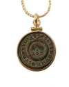 14k Gold Filled Genuine Ancient Roman Coin Necklace (CONSTANTINE II, 321 A.D.)