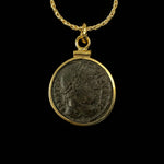 14k Gold Filled Genuine Ancient Roman Coin Necklace (Constantine the Great; 306-337 A.D.)